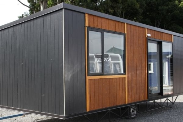 tiny house outside front