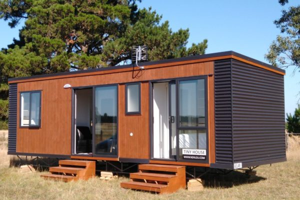 exterior of tiny house